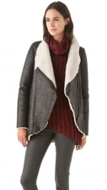Similar coat by Helmut Lang at Shopbop
