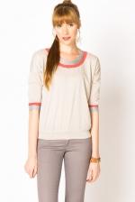 Similar cream sweater at A-Thread