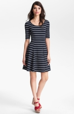 Similar dress in navy blue at Nordstrom