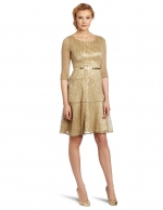 Similar gold dress at Amazon