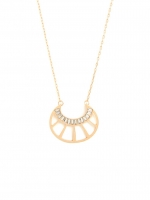 Similar gold necklace at Baublebar