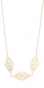 Similar gold necklace by Gorjana at Shopbop