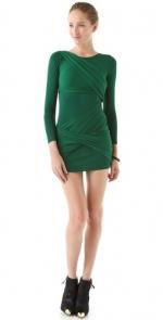 Similar green dress  at Shopbop