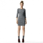 Similar grey dress at Club Monaco