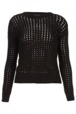 Similar grid stitch jumper at Topshop at Topshop