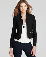 Similar jacket with zippers at Bloomingdales
