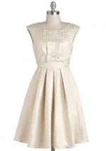Similar jacquard dress from Modcloth at Modcloth