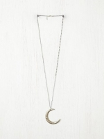 Similar moon necklace by Free People at Free People