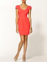 Similar orange dress by Amanda Uprichard at Piperlime