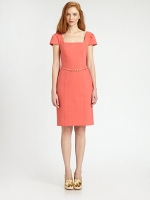 Similar orange dress by Tory Burch at Saks Fifth Avenue