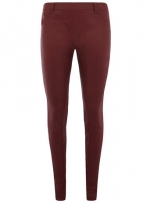 Similar oxblood leggings  at Dorothy Perkins