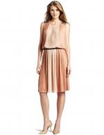 Similar pleated dress by same designer at Amazon