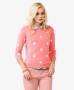 Similar polka dot sweater from Forever 21 at Forever 21