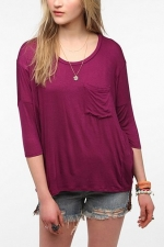 Similar purple tee from Urban Outfitters at Urban Outfitters