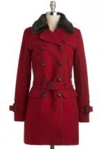 Similar red coat at Modcloth at Modcloth
