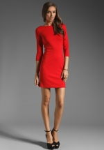 Similar red dress at Revolve at Revolve