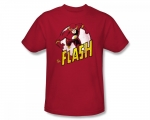 Similar red flash shirt at Amazon