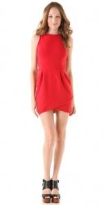 Similar red tulip dress at Shopbop