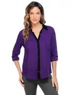 Similar shirt in purple at Splendid