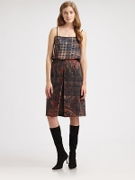 Silk print dress by Lagence at Saks Fifth Avenue