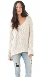 Similar slub sweater by Free People at Shopbop
