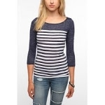 Similar striped top at Urban Outfitters
