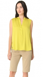Similar style blouse by Vince at Shopbop