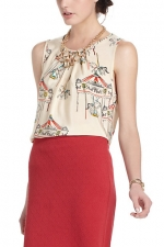 Similar style top from Anthropologie at Anthropologie