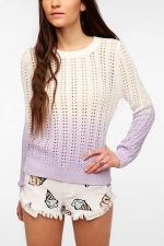 Similar sweater in ombre at Urban Outfitters