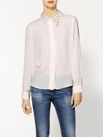 Similar white studded shirt at Piperlime