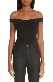 Simon Miller x Paramount Grease Ribbed Off the Shoulder Top  Nordstrom Exclusive at Nordstrom