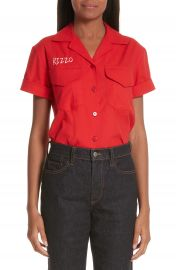 Simon Miller x Paramount Grease Rizzo Embroidered Mechanic Shirt  Nordstrom Exclusive    Nordstrom at Nordstrom