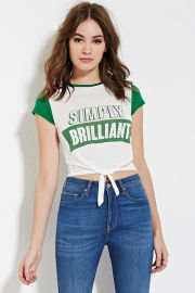 Simply Brilliant Graphic Tee   Forever 21 - 2000151732 at Forever 21