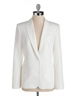 Single button blazer by Anne Klein at Lord & Taylor