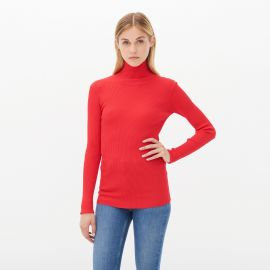 Sirine Sweater in Red at Sandro