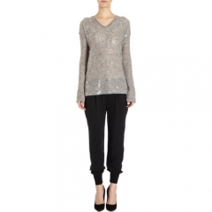 Skin Foiled Pullover at Barneys