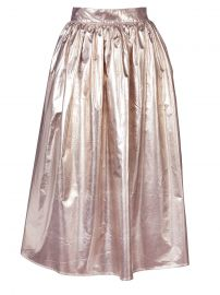 Skin and Threads Full Metallic Skirt at Skin and Threads