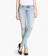 Skinny Low Jeans at H&M