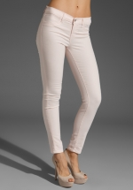 Skinny jeans in pink by J Brand at Revolve