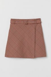 Skirt with Belt  at H&M