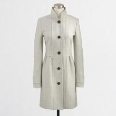 Skirted Dress Coat at J. Crew Factory