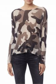 Skull Cashmere Camo sweater at Shoptiques