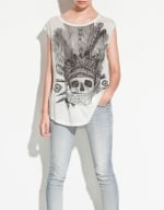 Skull shirt from Zara at Zara