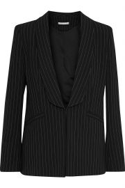 Skye pinstriped twill blazer at The Outnet