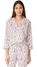 Sleepy Jones Liberty Edenham Floral Marina Pajama Shirt at Shopbop