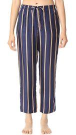 Sleepy Jones Silk Marina Pajama Pants at Shopbop