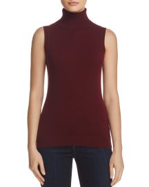 Sleeveless Cashmere Turtleneck by Theory at Bloomingdales