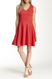 Sleeveless Fit andamp Flare Dress at Nordstrom Rack