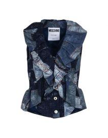 Sleeveless Shirt by Moschino at Moschino