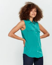Sleeveless Slim Signature Top at Century 21